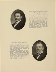 Page 13, 1911 Edition, Albright College - Speculum Yearbook (Reading, PA) online yearbook collection