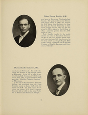Page 16, 1911 Edition, Albright College - Speculum Yearbook (Reading, PA) online yearbook collection