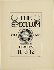 Page 4, 1911 Edition, Albright College - Speculum Yearbook (Reading, PA) online yearbook collection