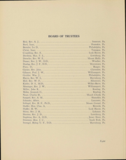 Page 8, 1912 Edition, Albright College - Speculum Yearbook (Reading, PA) online yearbook collection