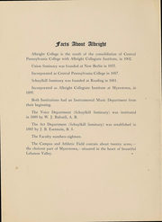 Page 4, 1916 Edition, Albright College - Speculum Yearbook (Reading, PA) online yearbook collection