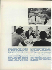Page 10, 1969 Edition, Albright College - Speculum Yearbook (Reading, PA) online yearbook collection