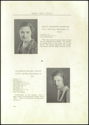 Page 17, 1932 Edition, Friends Select School - Record Yearbook (Philadelphia, PA) online yearbook collection