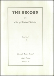 Page 9, 1932 Edition, Friends Select School - Record Yearbook (Philadelphia, PA) online yearbook collection
