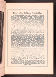 Page 13, 1925 Edition, Dickinson School of Law - Commentator Yearbook (Carlisle, PA) online yearbook collection