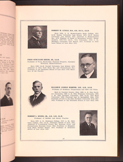 Page 17, 1925 Edition, Dickinson School of Law - Commentator Yearbook (Carlisle, PA) online yearbook collection