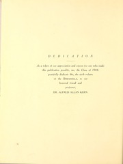 Page 10, 1910 Edition, Millsaps College - Bobashela Yearbook (Jackson, MS) online yearbook collection