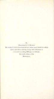 Page 10, 1914 Edition, Millsaps College - Bobashela Yearbook (Jackson, MS) online yearbook collection