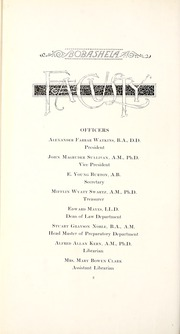 Page 16, 1914 Edition, Millsaps College - Bobashela Yearbook (Jackson, MS) online yearbook collection