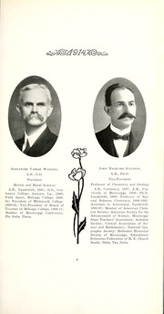 Page 17, 1914 Edition, Millsaps College - Bobashela Yearbook (Jackson, MS) online yearbook collection