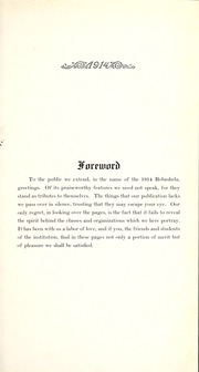 Page 9, 1914 Edition, Millsaps College - Bobashela Yearbook (Jackson, MS) online yearbook collection