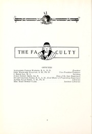 Page 16, 1916 Edition, Millsaps College - Bobashela Yearbook (Jackson, MS) online yearbook collection