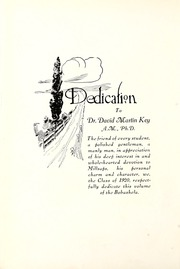 Page 10, 1920 Edition, Millsaps College - Bobashela Yearbook (Jackson, MS) online yearbook collection