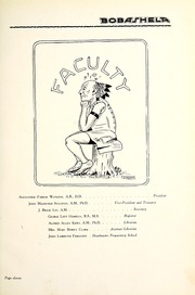 Page 15, 1920 Edition, Millsaps College - Bobashela Yearbook (Jackson, MS) online yearbook collection