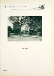 Page 11, 1922 Edition, Millsaps College - Bobashela Yearbook (Jackson, MS) online yearbook collection