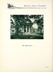 Page 14, 1922 Edition, Millsaps College - Bobashela Yearbook (Jackson, MS) online yearbook collection