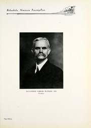 Page 17, 1922 Edition, Millsaps College - Bobashela Yearbook (Jackson, MS) online yearbook collection