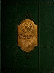 1929 Edition, Millsaps College - Bobashela Yearbook (Jackson, MS)