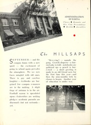 Page 14, 1938 Edition, Millsaps College - Bobashela Yearbook (Jackson, MS) online yearbook collection