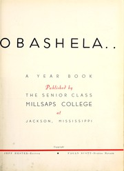 Page 7, 1938 Edition, Millsaps College - Bobashela Yearbook (Jackson, MS) online yearbook collection