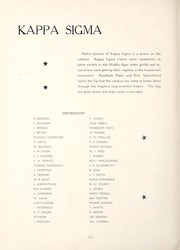 Page 124, 1944 Edition, Millsaps College - Bobashela Yearbook (Jackson, MS) online yearbook collection