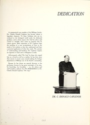 Page 7, 1961 Edition, Millsaps College - Bobashela Yearbook (Jackson, MS) online yearbook collection