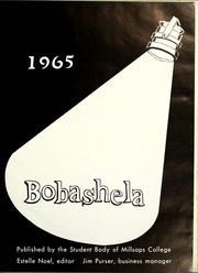 Page 5, 1965 Edition, Millsaps College - Bobashela Yearbook (Jackson, MS) online yearbook collection