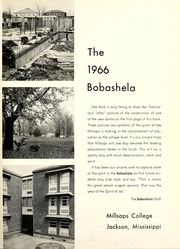 Page 5, 1966 Edition, Millsaps College - Bobashela Yearbook (Jackson, MS) online yearbook collection