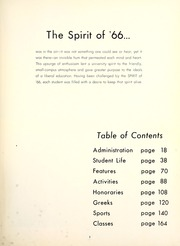 Page 7, 1966 Edition, Millsaps College - Bobashela Yearbook (Jackson, MS) online yearbook collection