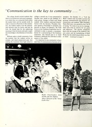 Page 10, 1988 Edition, Millsaps College - Bobashela Yearbook (Jackson, MS) online yearbook collection