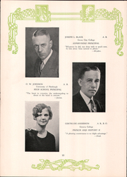Page 14, 1930 Edition, Parnassus High School - Tatler Yearbook (New Kensington, PA) online yearbook collection