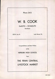 Page 57, 1942 Edition, Hepburn Township High School - Hi Way Yearbook (Hepburn, PA) online yearbook collection
