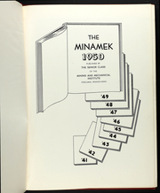 Page 5, 1950 Edition, MMI Preparatory School - Minamek Yearbook (Freeland, PA) online yearbook collection