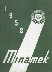 1958 Edition, MMI Preparatory School - Minamek Yearbook (Freeland, PA)