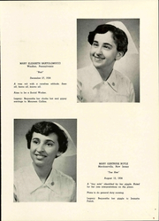 Page 17, 1955 Edition, Windber Hospital School of Nursing - Crown Yearbook (Windber, PA) online yearbook collection