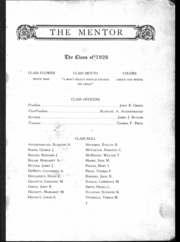 Page 4, 1926 Edition, St Catherine High School - Mentor Yearbook (DuBois, PA) online yearbook collection