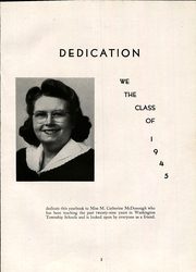 Page 7, 1945 Edition, Marion High School - Mariton Yearbook (Belle Vernon, PA) online yearbook collection