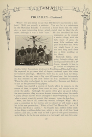 Page 33, 1919 Edition, Franklin and Marshall Academy - Epilogue Yearbook (Lancaster, PA) online yearbook collection