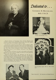 Page 6, 1957 Edition, Medical College of Pennsylvania - Iatrian Yearbook (Philadelphia, PA) online yearbook collection