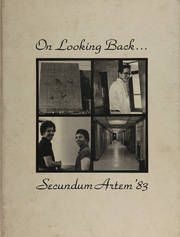 Temple University School of Pharmacy - Secundum Artem Yearbook (Philadelphia, PA) online yearbook collection, 1983 Edition, Page 1
