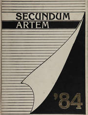 Temple University School of Pharmacy - Secundum Artem Yearbook (Philadelphia, PA) online yearbook collection, 1984 Edition, Page 1
