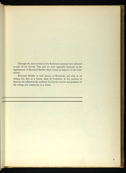 Page 11, 1953 Edition, Rosemont College - Cornelian Yearbook (Rosemont, PA) online yearbook collection