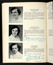 Page 36, 1954 Edition, Rosemont College - Cornelian Yearbook (Rosemont, PA) online yearbook collection