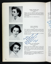 Page 42, 1954 Edition, Rosemont College - Cornelian Yearbook (Rosemont, PA) online yearbook collection