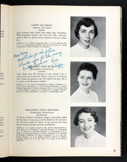 Page 43, 1954 Edition, Rosemont College - Cornelian Yearbook (Rosemont, PA) online yearbook collection