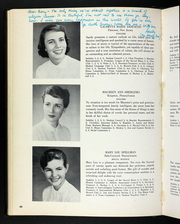Page 44, 1954 Edition, Rosemont College - Cornelian Yearbook (Rosemont, PA) online yearbook collection
