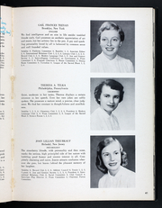 Page 45, 1954 Edition, Rosemont College - Cornelian Yearbook (Rosemont, PA) online yearbook collection