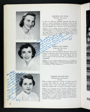 Page 46, 1954 Edition, Rosemont College - Cornelian Yearbook (Rosemont, PA) online yearbook collection