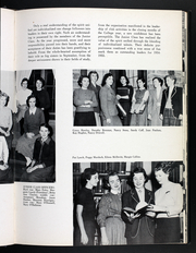 Page 51, 1954 Edition, Rosemont College - Cornelian Yearbook (Rosemont, PA) online yearbook collection