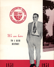 Page 13, 1951 Edition, St Josephs University - Greatonian Yearbook (Philadelphia, PA) online yearbook collection